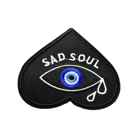 Sad Soul Patch - Tumblr Pins and Patches - Peachy Pins