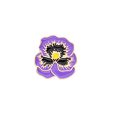 Purple Flower Pin - Tumblr Pins and Patches - Peachy Pins