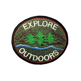 Explore Outdoors Patch - Tumblr Pins and Patches - Peachy Pins
