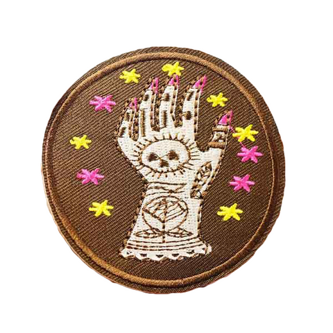 Creepy Hand Patch - Tumblr Pins and Patches - Peachy Pins