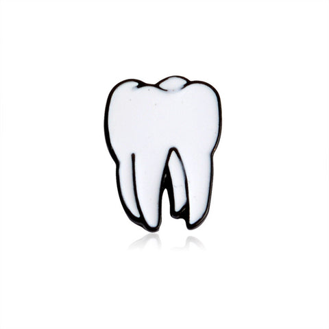 Tooth Pin - Tumblr Pins and Patches - Peachy Pins