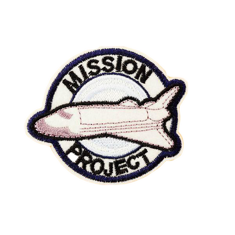 Mission Project Patch - Tumblr Pins and Patches - Peachy Pins