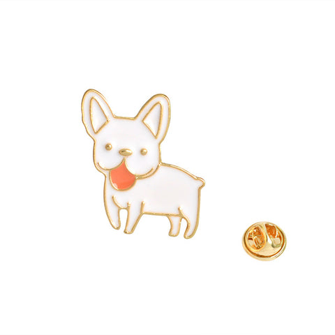 French Bulldog Pin - Tumblr Pins and Patches - Peachy Pins