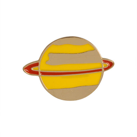 Saturn Planet Pin - Tumblr Pins and Patches - Peachy Pins