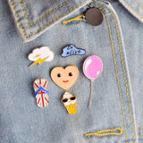 Easy Life Pin Set - Tumblr Pins and Patches - Peachy Pins