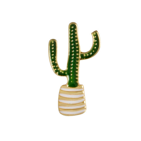 Cactus Pin - Tumblr Pins and Patches - Peachy Pins