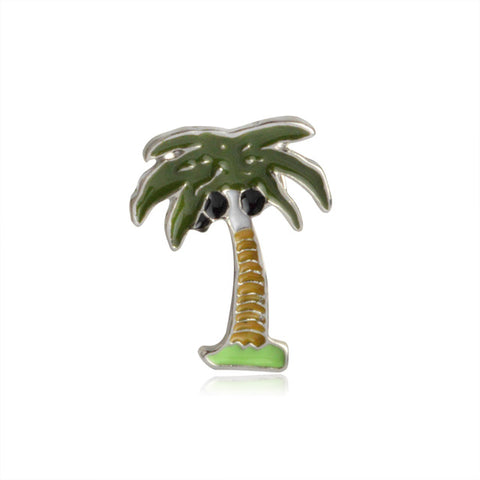 Coconut Tree Pin - Tumblr Pins and Patches - Peachy Pins