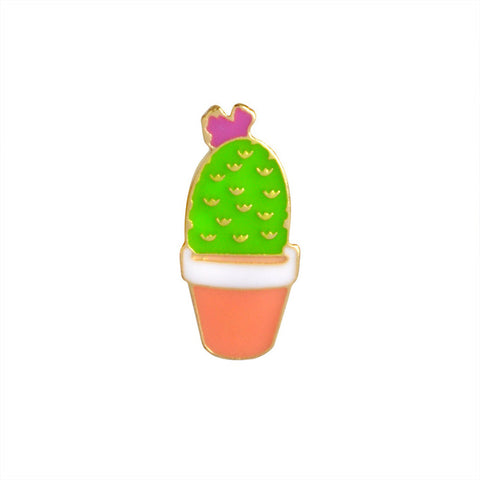 Cactus Plant Pin - Tumblr Pins and Patches - Peachy Pins