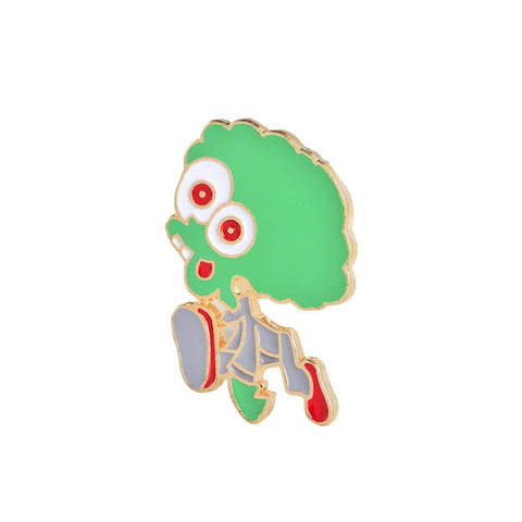 Space Zombie Pin - Tumblr Pins and Patches - Peachy Pins