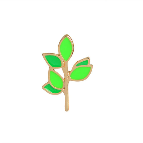 Cute Twig Pin - Tumblr Pins and Patches - Peachy Pins