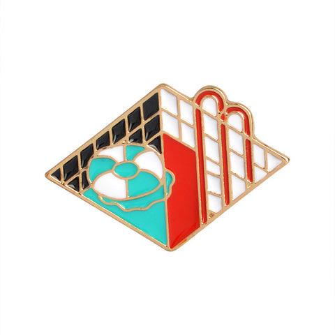 Swimming Pool Pin - Tumblr Pins and Patches - Peachy Pins
