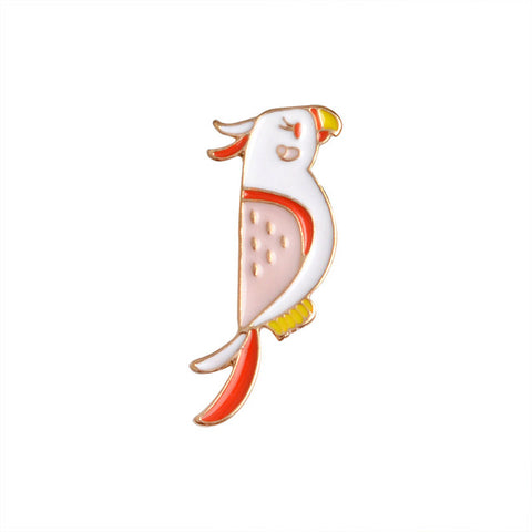 Parrot Pin - Tumblr Pins and Patches - Peachy Pins