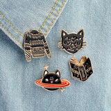 Introvert Pin Set - Tumblr Pins and Patches - Peachy Pins