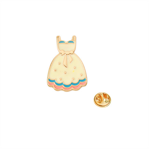 Cute Dress Pin - Tumblr Pins and Patches - Peachy Pins