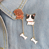 Dogs Pin Hanger Set - Tumblr Pins and Patches - Peachy Pins