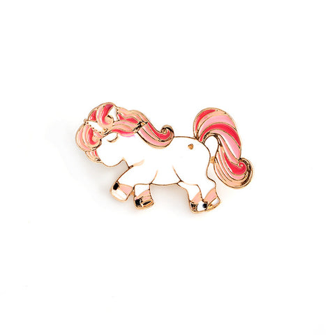 Red Unicorn Pin - Tumblr Pins and Patches - Peachy Pins