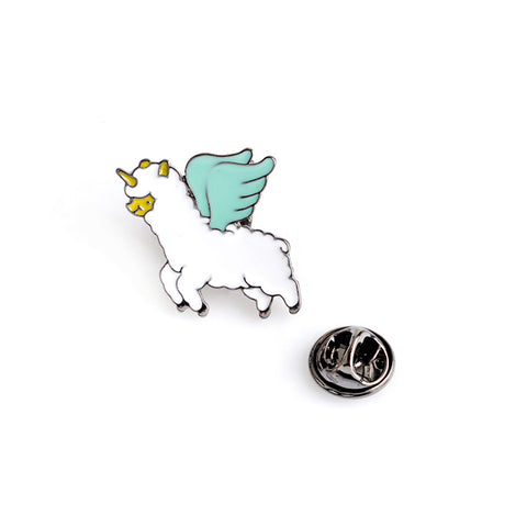Flying Unicorn Pin - Tumblr Pins and Patches - Peachy Pins