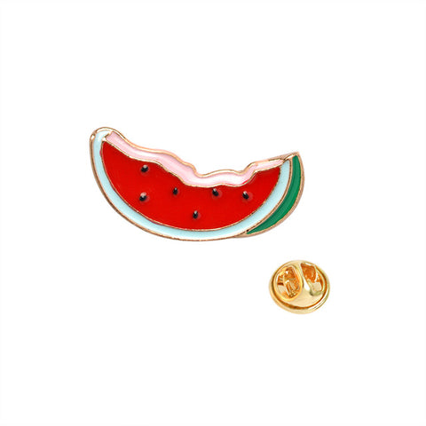 Watermelon Pin - Tumblr Pins and Patches - Peachy Pins