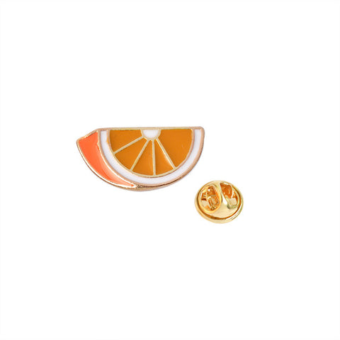 Orange Pin - Tumblr Pins and Patches - Peachy Pins