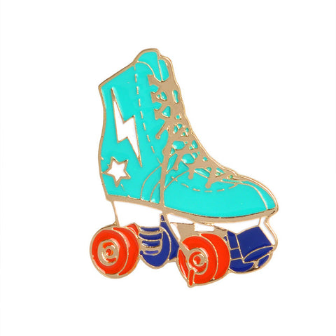 Power Rollerskates Pin - Tumblr Pins and Patches - Peachy Pins