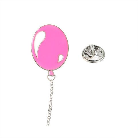 Pink Balloon Pin - Tumblr Pins and Patches - Peachy Pins