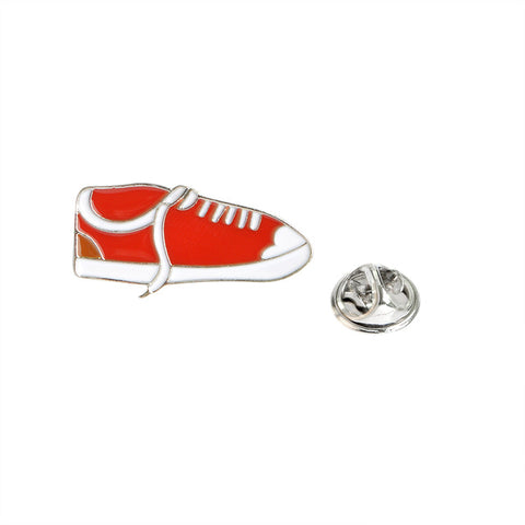 Low Top Sneaker Pin - Tumblr Pins and Patches - Peachy Pins
