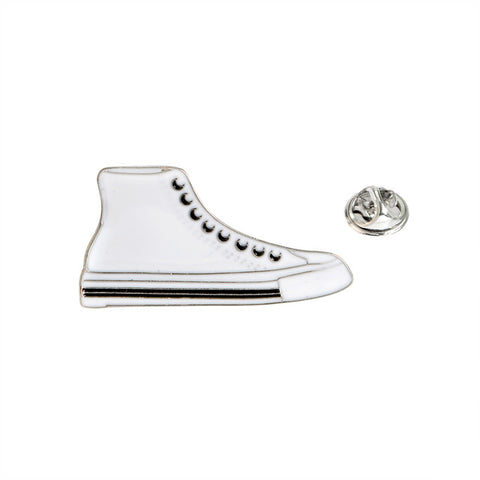High Top Sneaker Pin - Tumblr Pins and Patches - Peachy Pins