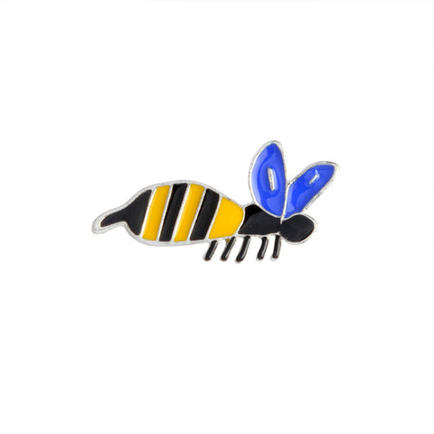 Bee Pin - Tumblr Pins and Patches - Peachy Pins