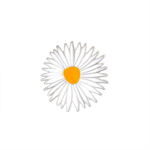 Daisy Pin - Tumblr Pins and Patches - Peachy Pins