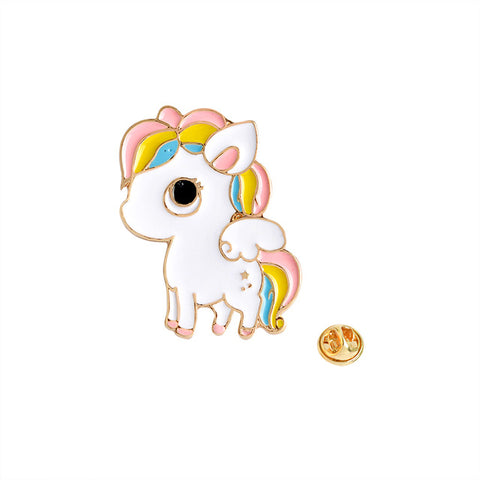 Winged Pony Pin - Tumblr Pins and Patches - Peachy Pins