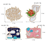 Flower Toilet Pin - Tumblr Pins and Patches - Peachy Pins