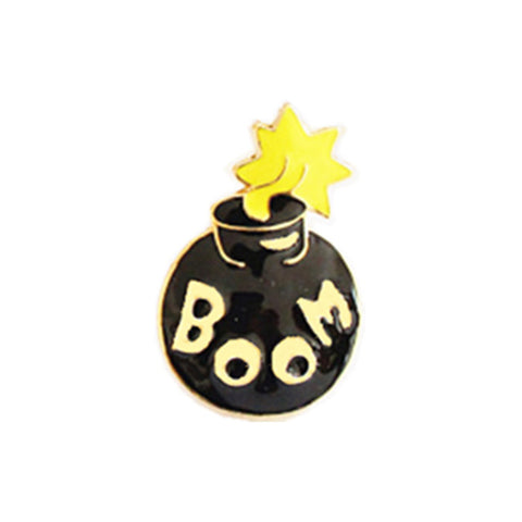 Boom Pin - Tumblr Pins and Patches - Peachy Pins