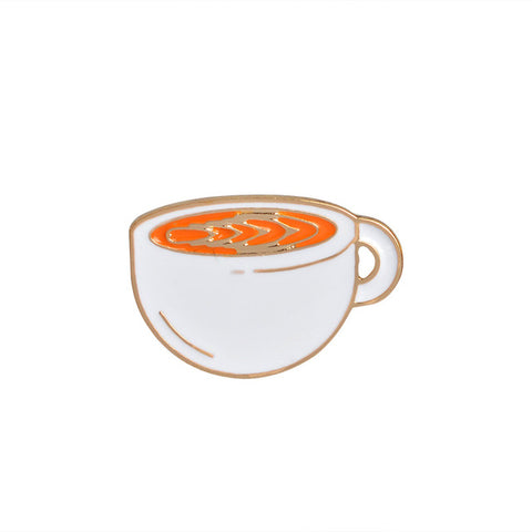 Soup Bowl Pin - Tumblr Pins and Patches - Peachy Pins