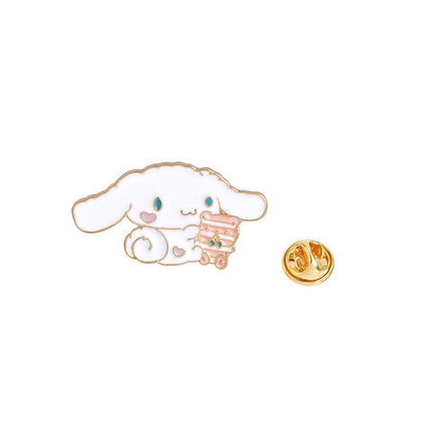 Kawaii Playing Bunny Pin - Tumblr Pins and Patches - Peachy Pins