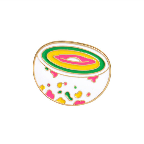 Rainbow Bowl Pin - Tumblr Pins and Patches - Peachy Pins