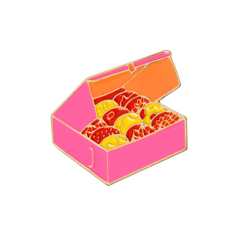Box Of Cookies Pin - Tumblr Pins and Patches - Peachy Pins