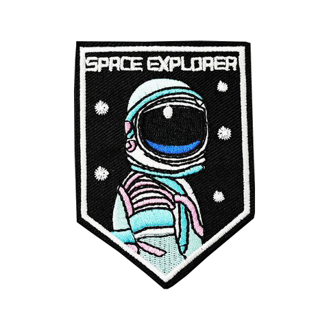 Space Explorer Patch - Tumblr Pins and Patches - Peachy Pins