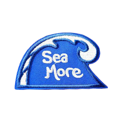Sea More Patch - Tumblr Pins and Patches - Peachy Pins