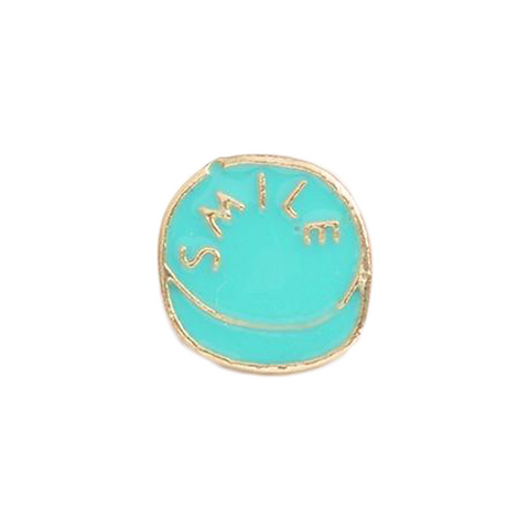 Smile Pill Pin - Tumblr Pins and Patches - Peachy Pins