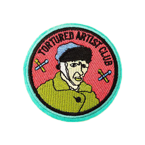 Tortured Artist Club Patch - Tumblr Pins and Patches - Peachy Pins