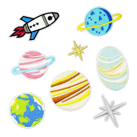 The Universe Patch Set - Tumblr Pins and Patches - Peachy Pins