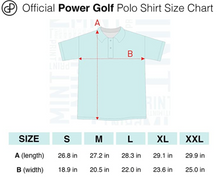 Gray Golf Cart Performance Polo Shirt