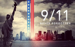 Never forget! 9-11-2001, America will prevail.