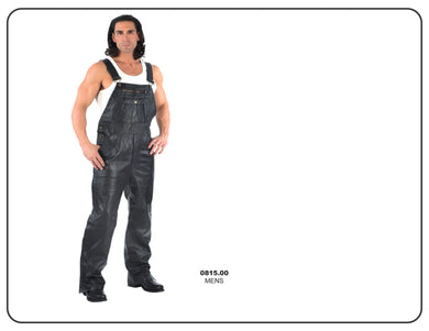UNIK Men's Premium Leather Overalls - Leather Lollipop