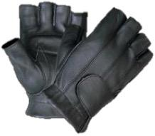 UNIK Fingerless Leather Gloves - Leather Lollipop