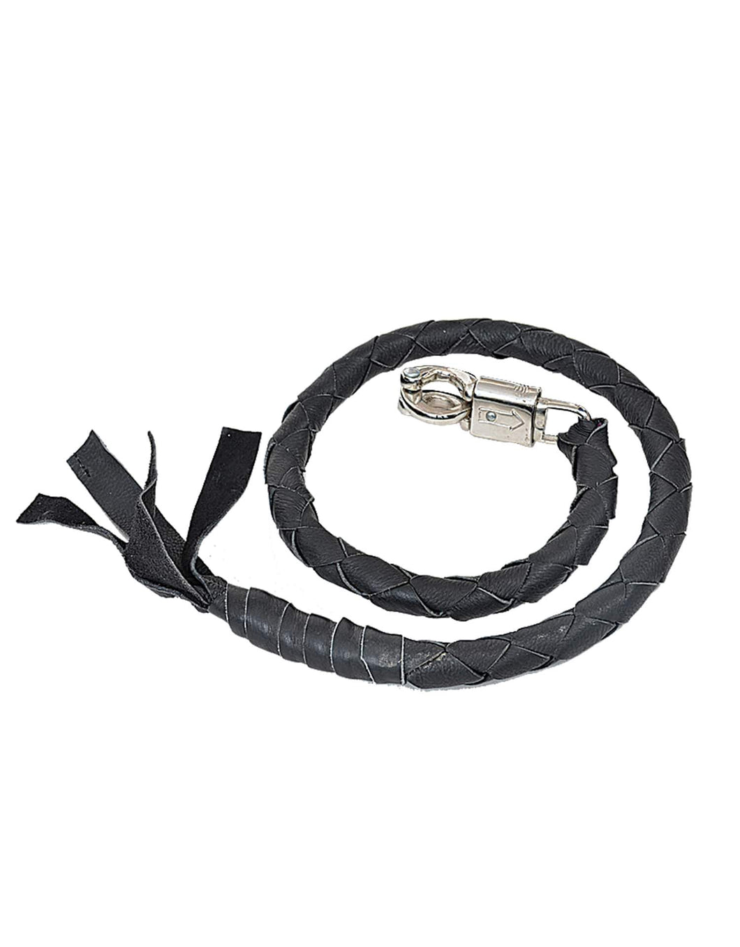 UNIK Biker Motorcycle Get Back Whip - Leather Lollipop