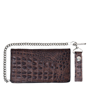 UNIK Leather Biker Chain Wallet