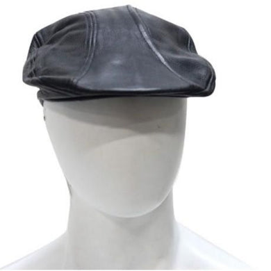 Mens Leather Driving Cap - SKU LL-AC25-DL - Leather Lollipop