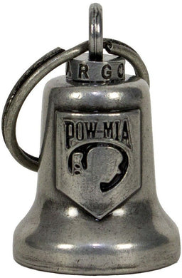 POW MIA - Motorcycle Guardian Ride Bell - SKU LL-BL18-GM-DL - Leather Lollipop