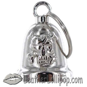 Skull and Crossbones - Motorcycle Ride Bell - SKU LL-BLC25-DL